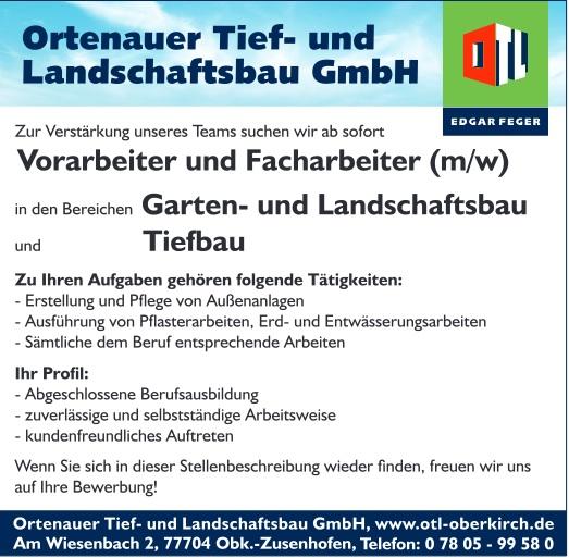 Garten Und Landschaftsbau Ausbildung Voraussetzungen: Edgar Feger Gruppe - Bauen Immobilien Küchen